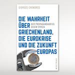 Buchcover mit der Abbildung einer Zange, in der eine Euromünze steckt. Der in blauen Großbuchstaben geschriebene Buchtitel nimmt einen Großteil des Covers ein.