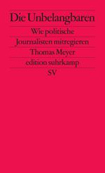 Das Buchcover ist, wie bei der edition suhrkamp üblich, schlicht und einfarbig: Titel, Untertitel und Autor in schwarzer Schrift auf einem knallroten Grund.