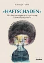 Buchcover mit einer Zeichnung von dem Künstler Sebastian Maria Otto: eine melancholisch, irgendwie traurig und geheimnisvoll dreinblickende Figur. Darüber in blauen Lettern und Anführungszeichen der Titel.