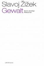 """Weißes und bildloses Buchcover, auf dem der Titel """"Gewalt"""" violett hervorgehoben ist"""