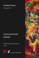 Buchcover mit dem Gemälde eines bunten, halben Schmetterlings auf der rechten Hälfte. Links daneben stehen weiß auf schwarz Autor und Titel.