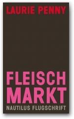 Das Cover zeigt den Namen der Autorin am oberen Rand, Titel und Verlag sind an den unteren Rand des Buches gesetzt. Das Cover ist dunkelbraun, Titel und Autorin sind grell pink und rot.