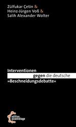 """Schwarzes Buchcover mit weißer Schrift. In der oberen linken Ecke stehen untereinander die drei Autoren. Der Titel ist über drei Zeilen verteilt, wobei """"gegen die deutsche"""" schwarz auf weiß abgesetzt und das """"gegen"""" fett gedruckt ist."""