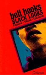Roter Rahmen mit Gesicht eines jungen Schwarzen Mannes. Die Umrahmung ist so nach unten verschoben, dass nur der untere Teil des Gesichts und der Hals zu sehen sind, seine Augen jedoch durch den roten Rahmen verdeckt werden. Name der Autorin und Titel in schwarzer Schrift schräg über dem Bildausschnitt.