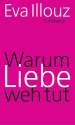 Buchcover ohne Abbildung in pink, mit Name der Autorin, Verlag und Titel. Liebe ist dabei groß geschrieben.