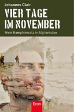 Vier Tage im November - Johannes Clair