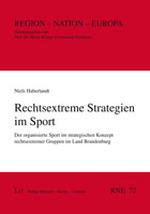 Rechtsextreme Strategien im Sport - Niels Haberlandt
