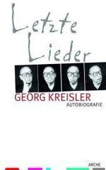 Letzte Lieder - Georg Kreisler
